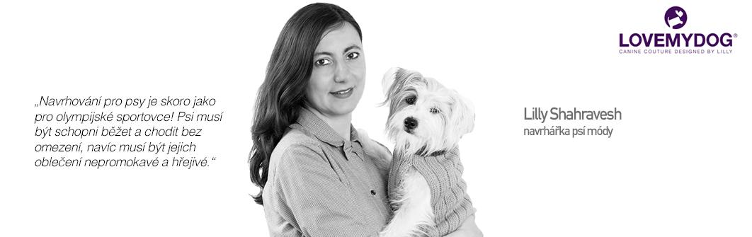 Čepice pro psy - Lilly Shahravesh (LoveMyDog)
