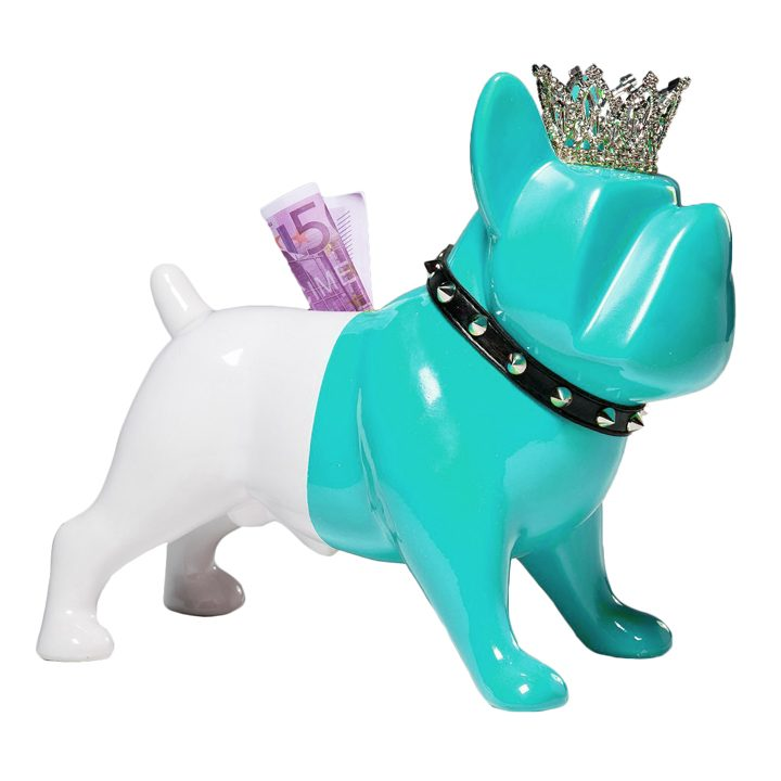 Pokladnička King Dog Blue