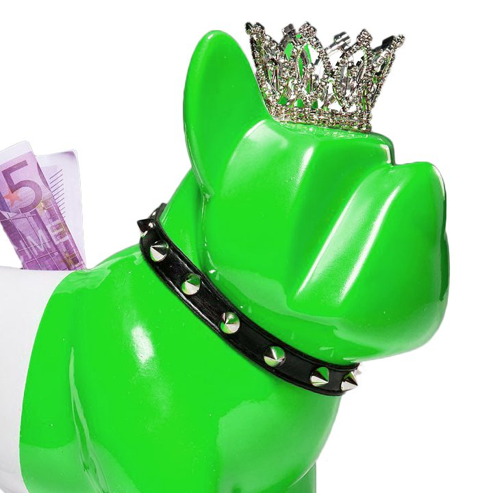 Pokladnička King Dog Green