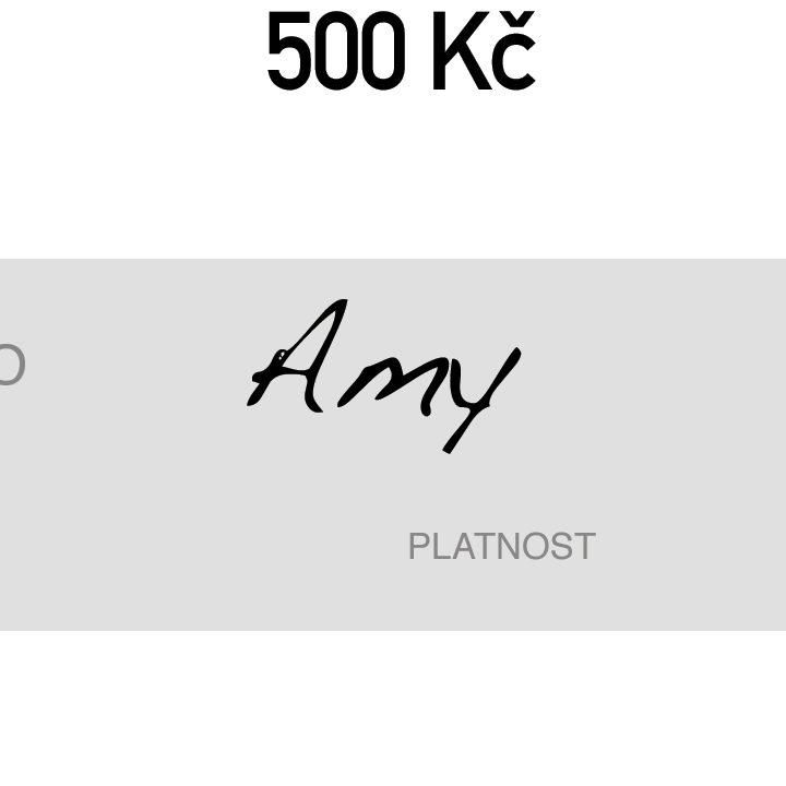 DOGG Dárkový poukaz v hodnotě 500 Kč