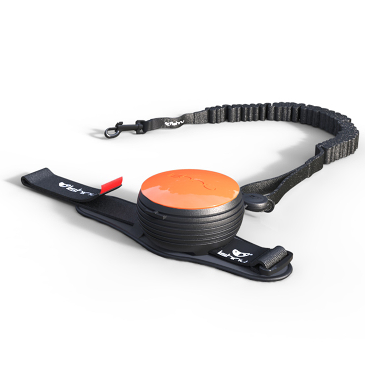 Odpružené hands-free vodítko Lishinu Bungee Orange (oranžové)
