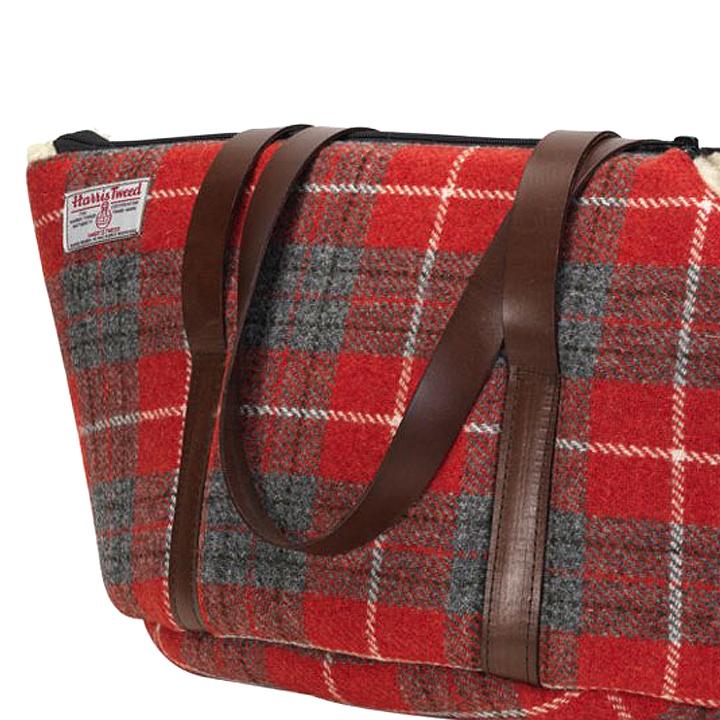 Cestovní taška pro psy Hoxton Tartan