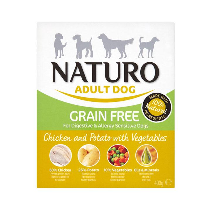 NATURO Grain Free Kuře s bramborami a zeleninou