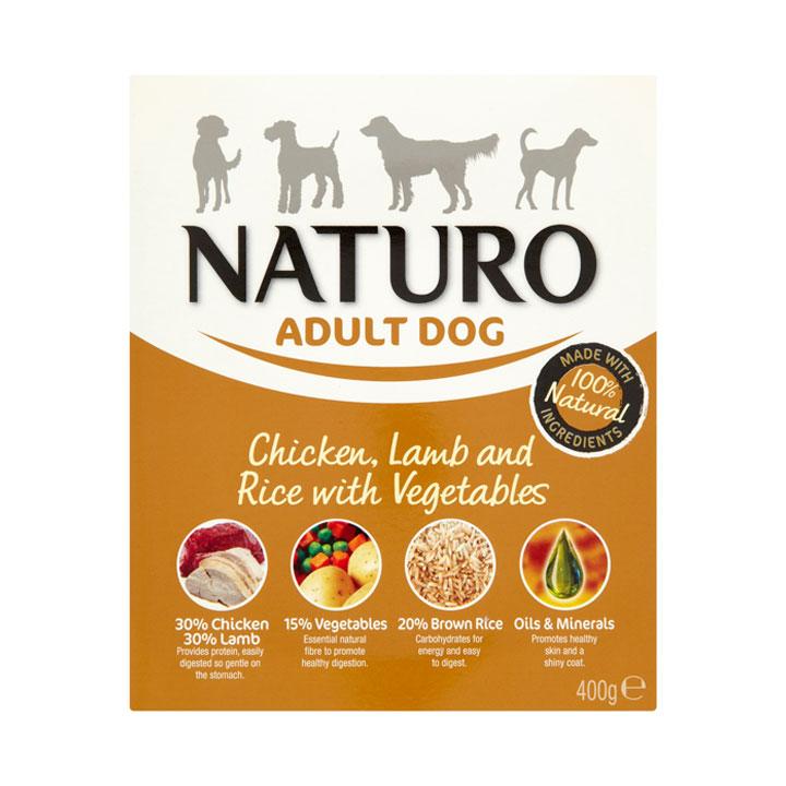 NATURO Adult Kuřecí a jehněčí s rýží a zeleninou