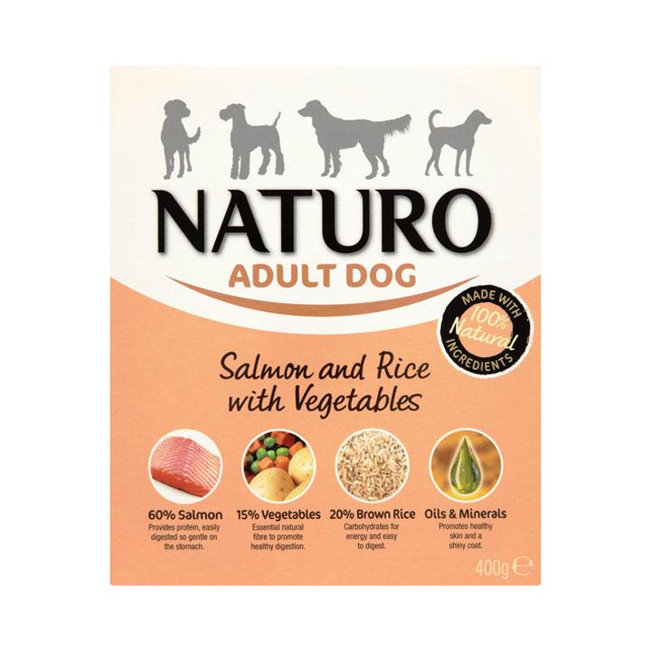 NATURO Adult Losos s rýží a zeleninou
