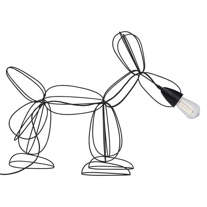 Lampa Dog Wired - lampa se psem