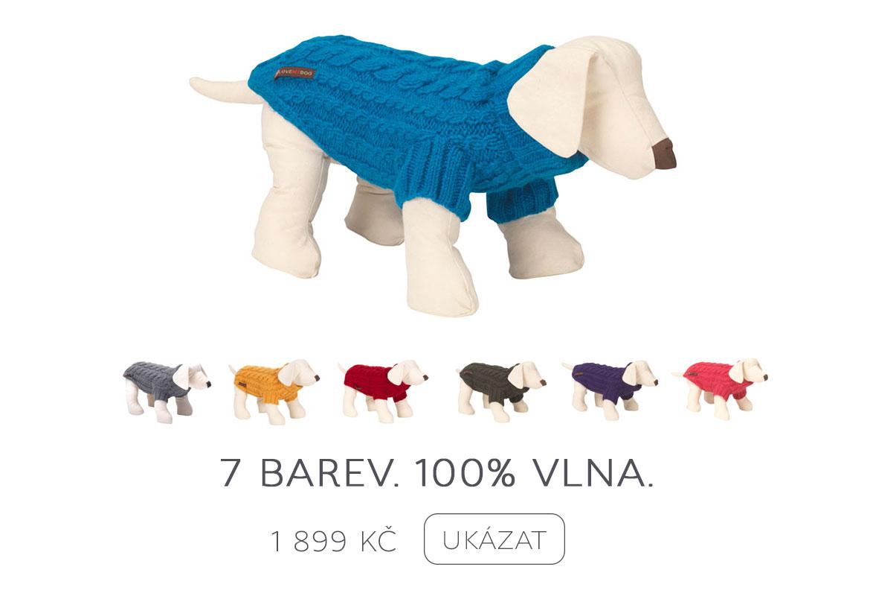 Bavlněné svetry pro psy