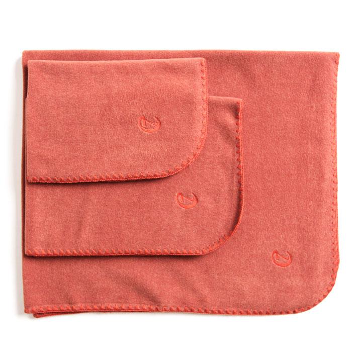 Hedvábná deka Soft Fleece Orange pro psy pre psov