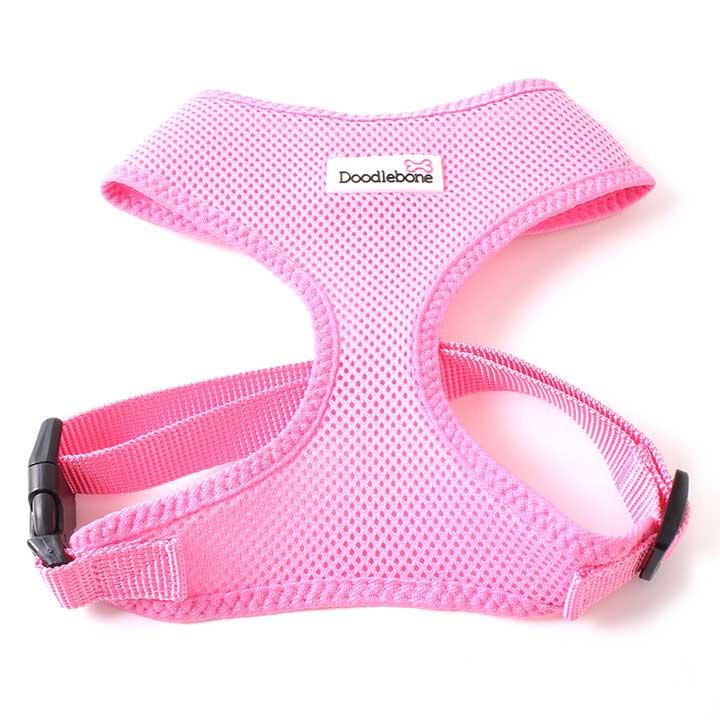 Postroj Airmesh Pink pro psy pre psov Doodlebone